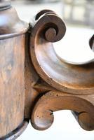 Antique Victorian Figured Walnut Tilt Top Table (4 of 12)
