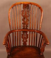 Yew Wood High Windsor Chair Benjamin Gilling (3 of 10)