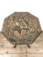 Early 20th Century Carved Side Table (6 of 9)