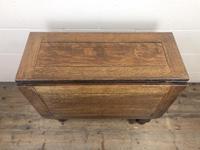 Early 20th Century Antique Oak Gateleg Table (3 of 9)