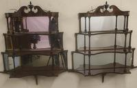 Rare Matching Pair of Victorian Wall Shelves (3 of 9)