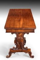 Regency Period Rosewood Library Table (6 of 7)