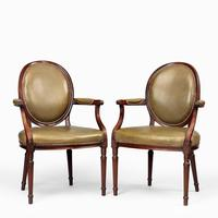 Six Edwardian Mahogany Chairs by Gill & Reigate (5 of 7)