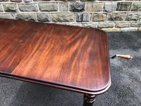 Antique Mahogany Wind Out Extending Dining Table (8 of 12)