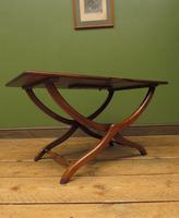Antique Georgian Coaching Table, Regency Antique Occasional Fold Away Table (14 of 20)