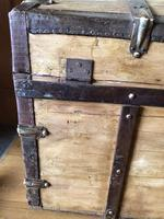 Antique Domed Wooden Sea Trunk c.1850 (8 of 13)