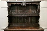 Early 18th Century Carved Oak Buffet Sideboard Dresser (6 of 14)