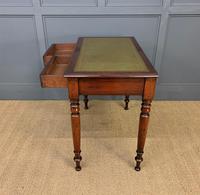 Victorian Mahogany 2 Drawer Writing Table (3 of 13)