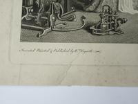 William Hogarth, Marriage-A-La-Mode, Plate 3, Engraved 1745, Original print (4 of 8)