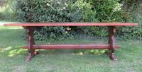 Large French Oak Refectory Dining Table (2 of 12)