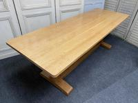 Oak Farmhouse Refectory Dining Table (16 of 17)