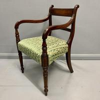 19th Century Regency Carver Armchair (3 of 7)