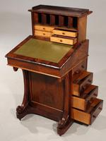 Very Good Quality Late 19th Century Rosewood Davenport (4 of 8)