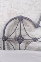 Lovely al Iron Three Hoop no End Double Bed (7 of 9)