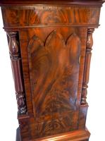 Fine English Longcase Clock D Cowed Manchester 8-day Striking Grandfather Clock Solid Mahogany Case (9 of 19)