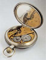 Antique silver Waltham pocket watch, 1903 (4 of 5)