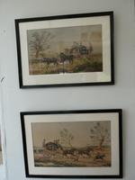 Pair Watercolours Coaching Scene (9 of 9)