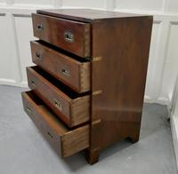 1861 Yew Wood Campaign Chest with IV Lancers Plaque (3 of 6)