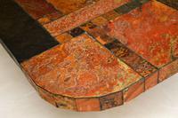 Large Swedish Stone Vintage Coffee Table (6 of 11)