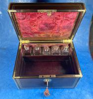 Georgian  Rosewood Brassbound Vanity Box (25 of 34)
