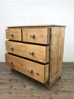 Victorian Pine Chest of Drawers (7 of 10)