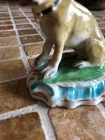 Two Duesbury Derby Porcelain Pug Dogs Figurines c.1790 (15 of 16)