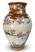 Meiji Period Kutani Vase Decorated with Geese (2 of 6)