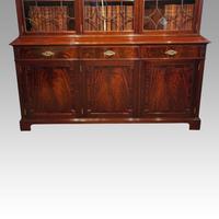 Edwardian Mahogany Library Bookcase (12 of 20)