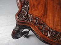 Unusual Anglo-Indian Hardwood Occasional Table (5 of 11)