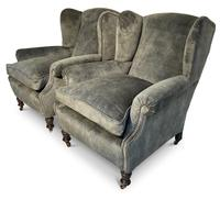 Pair of Wingback Armchairs (4 of 6)