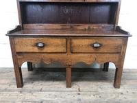Small Antique Oak Farmhouse Country or Cottage Dresser (2 of 12)