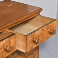 Victorian Burr Walnut Chest of Drawers c.1860 (4 of 8)