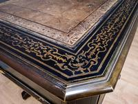 19th Century Art & Crafts Library Table (6 of 12)