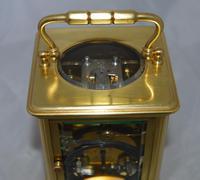 French Goldsmiths London Strike Carriage Clock & Box (4 of 6)