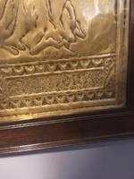 "Art Nouveau Brass Plaque "" Pandora"" (4 of 6)"