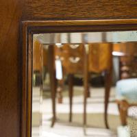 Edwardian Mahogany Wall Mirror (6 of 6)