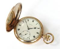 """Antique """"The Angus"""" Full Hunter Pocket Watch (6 of 6)"""