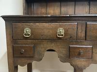 Titchmarsh & Goodwin Georgian Style Small Welsh Oak Dresser (5 of 11)