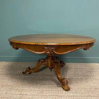 Outstanding Victorian Rosewood Antique Dining Table (2 of 9)