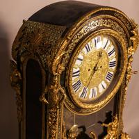 Massive Buele Mantle Clock Double Fusee (2 of 17)