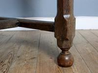 18th Century English Twin Drawer Oak Table (5 of 7)
