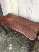 High quality early Victorian sofa / centre / console table (8 of 14)