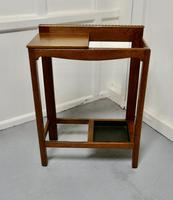 A Golden Oak Hall Table Stick Stand, (6 of 7)