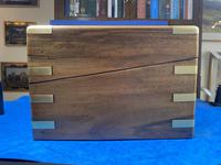 Victorian Brass-bound Walnut Writing Slope with Secret Drawers (37 of 39)