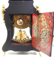 Wow! Phenomenal French Boulle Mantel Clock Rare 8-day Striking Bracket Clock Superb Condition (21 of 22)