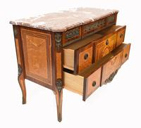 Scandinavian Commode Marquetry Chest of Drawers c.1920 (11 of 15)