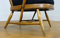 Mid Century Ercol Goldsmith 359 Easy Armchair with New Cushion (14 of 14)