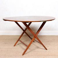Walnut Folding Coaching Card Table (6 of 11)