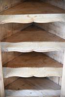 Rustic Pine Hanging Corner Cupboard (11 of 12)