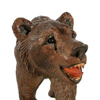 Swiss Carved Wood Black Forest Bear (7 of 7)